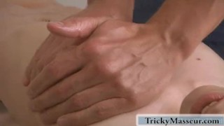 She enjoys gettings her body massaged and relaxed Tits pussy