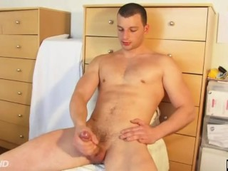 Romain, a real french straight guy serviced by us: get wanked his huge cock