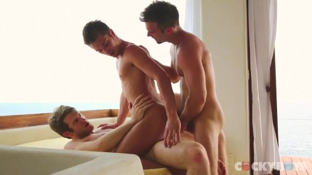 Girl penetrates twink A thing of beauty - colby keller and gabriel clark double penetrate jd