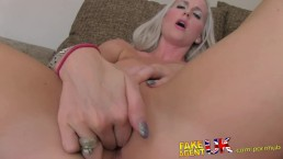 FakeAgentUK Blonde college girl conned into deep throat fuckfest casting