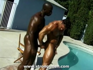 Pool muscle xxx outdoor