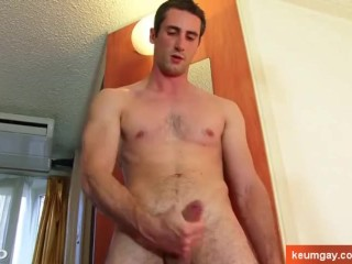 Guillaume, real straight guy serviced by us on porn video...