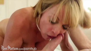 PureMature disobedient housewife split porno