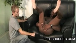 Hole Hunter - Cute White Guy Licking An Old Black Ass