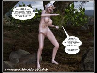 3D Comic: Bonan. The princess