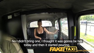 Preview 1 of FakeTaxi Young girl with bouncy tits seduced by local cabby