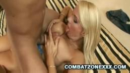 Sylvia Black - Hot Blonde Euro Mom Having A Rough Sex