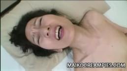Nobue Toyoshima - Nippon Granny Wants Young Cock