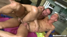 Hard Anal Pounding By A Gay Man Tall And Sexy
