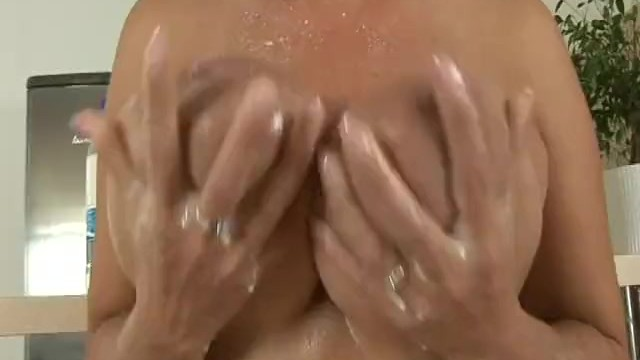 Huge breast movie samples Huge breasts babe dildoing her pussy on the floor