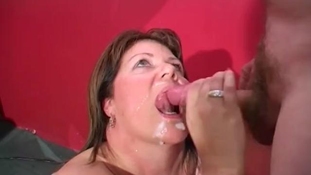 We love bukkake german Shooting cumshots into mature womans mouth