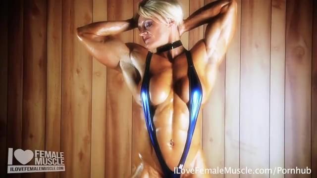 Naked female hardbodies Amazing muscle girl brigita brezovac flexing her ultimate hardbody