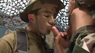 Uncut Soldiers - Scene 1 Threesome sex