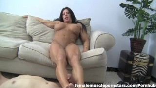 Angela Salvagno - Muscle Fucking Small cum