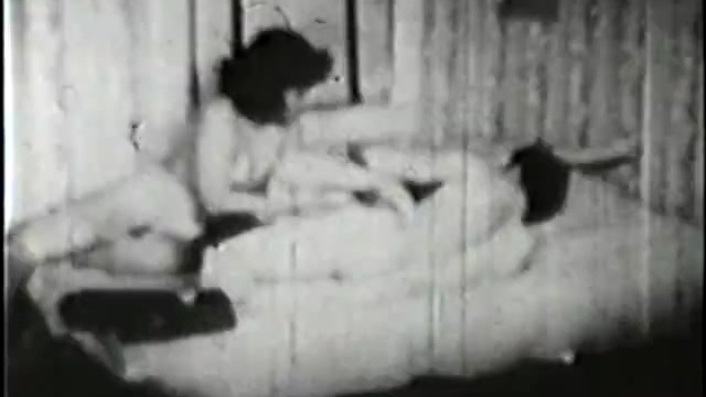 Naked silent film stars Classic stags 135 30s to 50s - scene 1