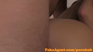 Fakeagent anal creampie sexy for amateur fakeagent ass