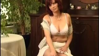 Mature secrets  scene of horny fingering strippping