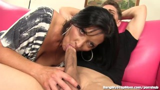 Sneaky Step mom Seduces Her Step son into Sex
