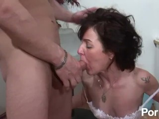 Husband helps with suck bbc