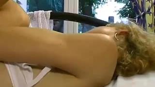 Vol voyeur  papy scene french nylons