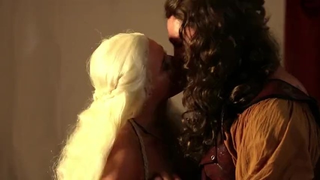Anikka Albrite as Daenerys Targaryen Fucking Game of Bones