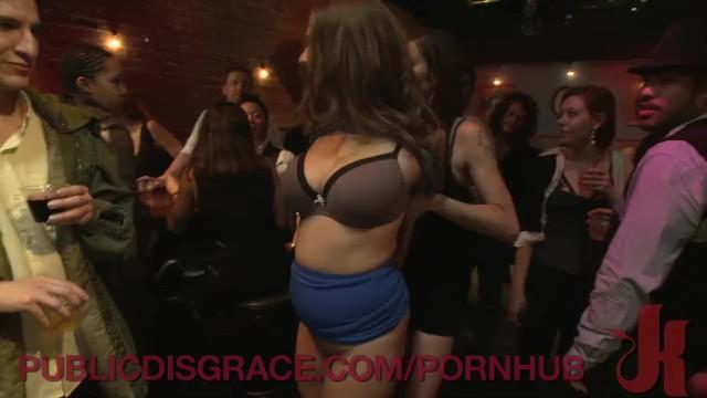 Donna marie escorts - A public shaming for a natural big tit slut