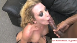 Screen Capture of Video Titled: Tristyn Kennedy interacial foursome fun