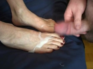 Foot Job Fun!