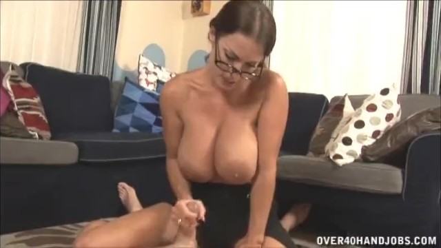 Over 40 and hot hispanic tits - Hot milf with big tits handjob