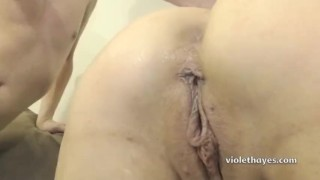 Violet Hayes - Creampie Compilation Point rough