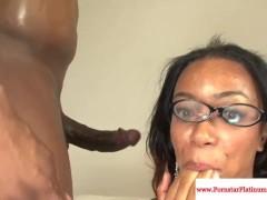 Ebony Tila Flame fucked by black cock