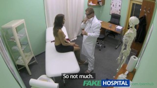 FakeHospital Hot girl with big tits gets doctors treatment Homemade mywifeisbitch