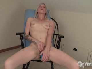 Sexy yanks ari fucks her old vibe - 3 part 5