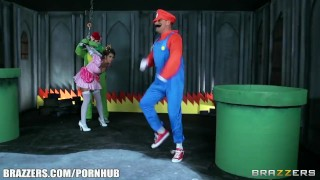 Mario and luigi parody double stuff - Brazzers Funny reality