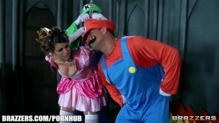Mario and luigi parody double stuff - Brazzers Interview natural
