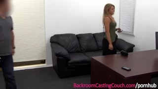 Fit Babe Luvs The Anal on Casting Couch Oral fingering