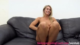 Luvs babe on casting couch anal fit the strip audition