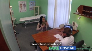FakeHospital Doctor gives a strong orgasm to fit young lonely brithday girl Boots tv