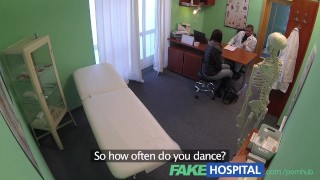 FakeHospital Gorgeous young pole dancer with hot body swallows cum Cock piercing