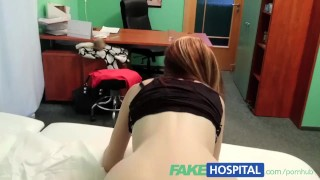 FakeHospital Spy on pretty teen slowly seduced and takes creampie Ass tits