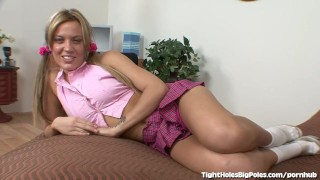 Holly Wellin Takes Her Biggest Dick Ever Big girls