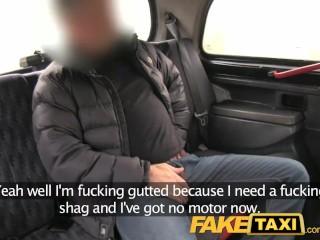 Preview 2 of FakeTaxi Hot sexy taxi foursome gang bang