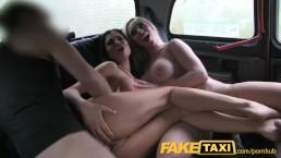 FakeTaxi - タクシーで4P?!