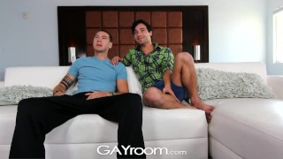 Strip twinks gayroom on and fuck lucky get hunks style