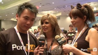 PornhubTV Chloe Chaos Interview at 2014 AVN Awards porno