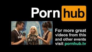 PornhubTV Rikki Six Interview at 2014 AVN Awards porno
