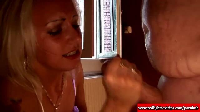 Slut hooker Real dutch hooker rides lucky tourist cock in amsterdam