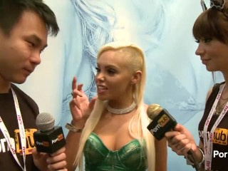 PornhubTV Selena Rose Interview at 2014 AVN Awards