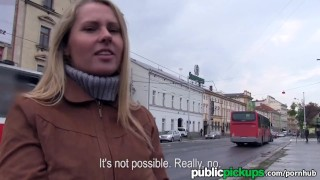 Mofos - Hot Euro blonde gets picked up on the street Tushy brutalx