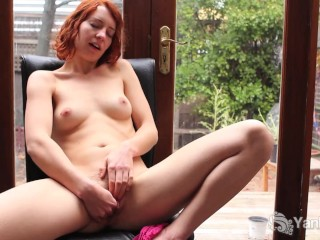 Extremely Depraved Teen Babe Pic Depraved torturing of babe's vagina